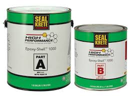 100 Solids Epoxy Garage Floor Coating Canada by Epoxy Shell 100 Solids Self Leveling Epoxy Seal Krete High
