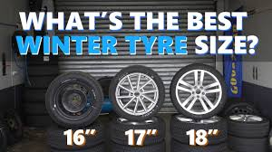 100 16 Inch Truck Wheels The Differences Between 17 And 18 Inch WINTER Tyres Tested And