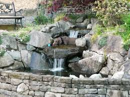 Outdoor And Patio: Small Backyard Pond Ideas Combined With Tile ... 75 Relaxing Garden And Backyard Waterfalls Digs Waterfalls For Backyards Dawnwatsonme Waterfall Cstruction Water Feature Installation Vancouver Wa Download How To Build A Pond Design Small Ponds House Design And Office Backyards Impressive Large Kits Home Depot Ideas Designs Uncategorized Slides Pool Carolbaldwin Thats Look Wonderfull Landscapings Japanese Dry Riverbed Designs You Are Here In Landscaping 25 Unique Waterfall Ideas On Pinterest Water