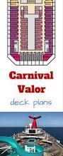 Carnival Splendor Panorama Deck Plan by Carnival Valor Deck Plans Cruise Radio