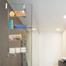 hängeregal chrom wandregal badezimmer badregal metall küchenregal zum einhängen hbt 112x45x23 cm silber