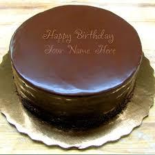 Write Name on Cake Birthday Chocolate Cake With Name