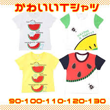Child Short Sleeves T Shirt Print Watermelon Bear Beetle Fruit Summer Clothes Pretty Casual Outing