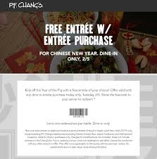 Pinned February 5th: Second Entree #FREE Today At #PFChangs ...