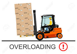 Forklift Safety. Vector Illustration Without Gradients On A White ... Forklift Attachments Such As Tipping Skips Safety Access Ipe New Company New Forklift Safety Range Tmhes 25 Tips For Working Safely With Counterbalanced Forklifts Cage Work Platform Lift Basket Pallet Loader Yellow Checklist Poster Skilven Publications Speed Zoning Fork Truck Control Vector Stock Vector Illustration Of Commercial Whiteowl Tronics Safe Operation Train And Again Grainger Camera Systems