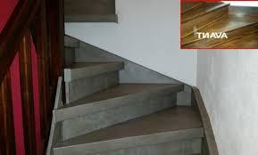 décoration renover un escalier avec du beton cire boulogne