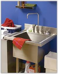 Utility Sink Legs Home Depot by Stainless Steel Utility Sink With Legs Home Design Ideas