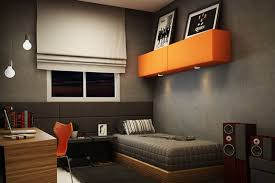 Young Mans Bedroom Design On Behance