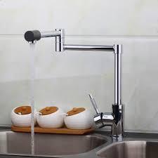 Dornbracht Kitchen Faucet Rose Gold by New Design Swivel 360 Spray Chrome Brass Water Tap Wash Basin Sink