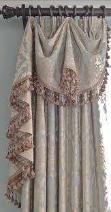 J Queen Valdosta Curtains by Elegant Swag Treatment Ideal For Bedrooms Custom Draperies
