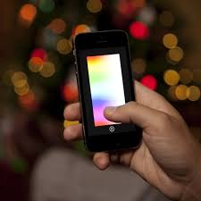 Ge Itwinkle Light Christmas Tree by Lumenplay Interactive App Controlled String Lights 16 Million