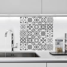 stickers carrelage salle de bain planche de stickers carreaux de ciment optimistick
