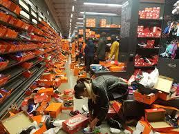 Nike Outlet by Nike Outlet Destroyed On Black Friday Kicks