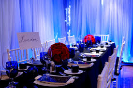Pictures On Blue And Red Wedding Theme