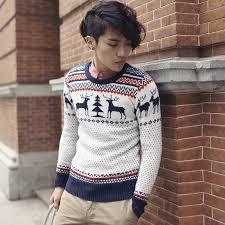 New 2014 High Quality Fashion M L XL Size Animail Christmas Deer