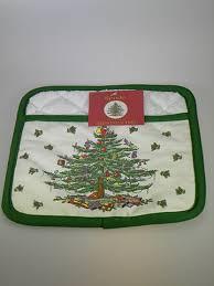 Spode Christmas Tree Potholder