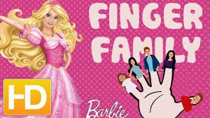 Barbie Finger Family Barbie Doll Song For Children Finger Family