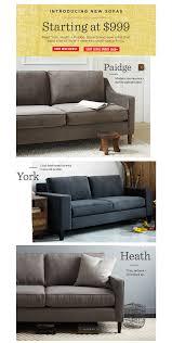 West Elm Paidge Sofa by Marketing Emails U2014 Jaclyn Kerschner