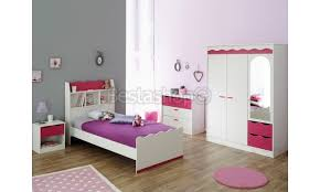 chambre enfant pin enfant contemporain pin framboise
