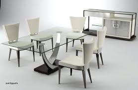 Stylish Dining Table Sets Oval Set Room Contemporary Modern Elegant Chair