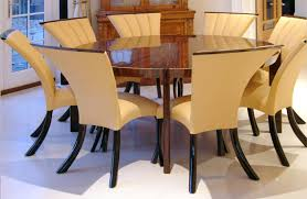 contemporary dining table in macassar ebony fine furniture maker