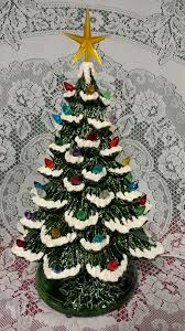 Clear Bulbs For Ceramic Christmas Tree by Ceramic Christmas Tree Lighted 14