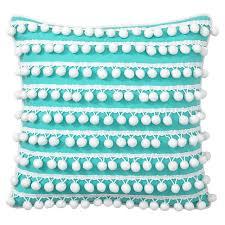 Poolside Pom Pom Pillow Cover