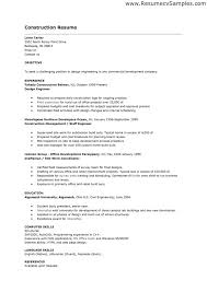 Construction Worker Resume Examples And Samples Of Resumes Template 12
