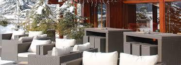 restaurant bar lounge à méribel le grand chalet des pistes