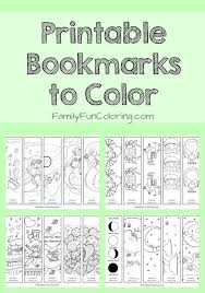 Explore Free Printable Bookmarks Coloring Pages And More