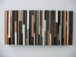 Hand Made Modern Rustic Wood Wall Art By LLC