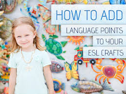 How To Add Language Points Your ESL Crafts