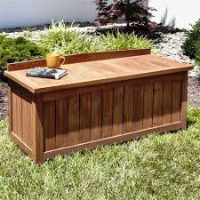 best outdoor storage bench designs