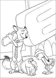 Zootopia Coloring Pages 24 More