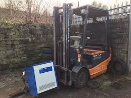 100 Used Truck Batteries USED STILL ELECTRIC FORKLIFT TRUCK NEEDS NEW BATTERIES