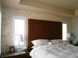 Master Bedroom Feature Wall Tropical