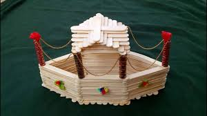 HOW TO MAKE BOAT FROM POPSICLE STICKS ICE CREAM