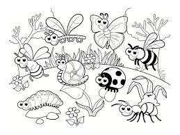 Cute Bug Coloring Pages To Print