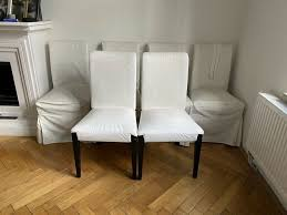 6 stühle stuhl ikea henriksdal esszimmer polsterstuhl