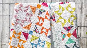 100 Eileen Alexanderson Jenny Demonstrates How To Make A Pony Express Quilt Using 10