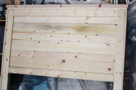 Perfect How To Make A Rustic Wood Headboard 33 In Metal Headboards With