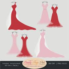 Red Dress clipart wedding dress 1