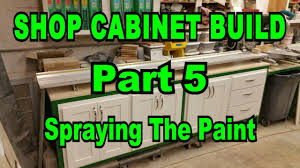Insl X Cabinet Coat Colors by Shop Cabinets Build Part 5 Finishing Spraying The All In One