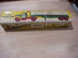 1964 HESS MACK Tanker Trailer 'The First Hess Toy Truck W/box ... Hess Toy Trucks Mini Toys Buy 3 Get 1 Free Sale 1964 Hess Tanker Truck All Original Great Cdition 1849392991 Rays 2012 Vintage Marx Toy Tanker Mack Tank Truck Trailer W Box Tanker Truck 1725000816 For Sale In Nj 1969 Amerada Original Near Mint Hess With Funnel And Box Aj Colctibles More Pulls Wraps Off 50th Anniversary Holiday Toy Wfmz Tank Hong Kong 63500 Pclick 1st Wind Up Metal Car Nmib Works Best Example I