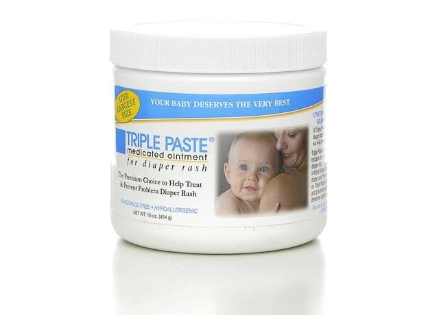 Triple Paste Medicated Diaper Rash Ointment - 16oz