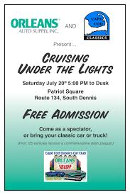 100 Cape Cod Cars And Trucks Cruise Night Orleans Auto Supply