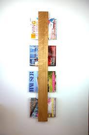 zeitschriftenhalter aus edlem eichenvollholz rustikale