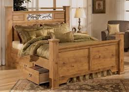 Image Of Rustic King Size Bed Frames And Headboards
