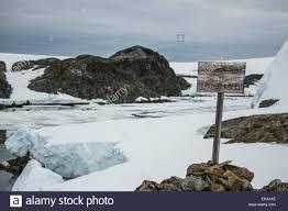 100 Antarctica House A Rare Timber British Crown Land Sign Wordie Winter Island