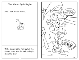 Clean Water Willie Coloring Book